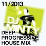 DJ Minty - Deep Progressive House Mix November 2013