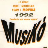 Musiko' (Movida Jesolo) - May 1992 - Massimino Lippoli