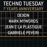 Gabriele Peveri @ TECHNO TUESDAY AMSTERDAM - Sugarfactory 22/03/16