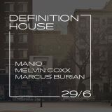 MARCUS BURIAN - DEFINITION HOUSE - ROXY PRAGUE - LIVE - 29.6. 2018