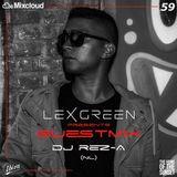 LEX GREEN presents GUESTMIX #59 DJ REZ-A (NL)