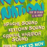 Crucial Warrior Sound @ Rasta Nation #53 (Nov 2014) part 3/7