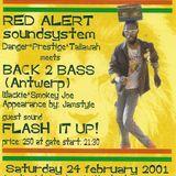 FLASH iT UP LS. RED ALERT LS. BACK II BASS - DANCEHALL FURY 01 - 2001