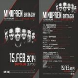 Cannibal Cooking Club (Live PA) @ Minupren Birthday - Sky Club Leipzig - 15.02.2014