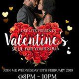 Dee Lite's Soul 4 Ya Soul Valentines Special Feb 2019 on www.uniquevibez.com