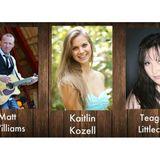 Matt Williams, Kaitlin Kozell & Teagan Littlechief