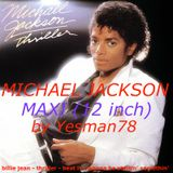 MICHAEL JACKSON THRILLER MAXI 12'' (billie jean, thriller, beat it, wanna be startin' somethin')