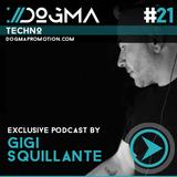 Gigi Squillante – Techno Live Set // Dogma Techno Podcast [June 2014]