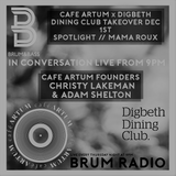 CAFE ARTUM in conversation on the Brum & Bass show with Danny de Reybekill (23/11/2017)