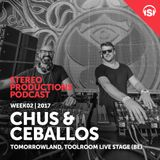 WEEK34_17 Chus & Ceballos Live from Tomorrowland, Toolroom Live Stage (BE)