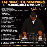 DJ Mac Cummings Christian Rap Mix Vol. 10