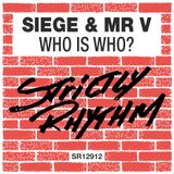 Strictly Rhythm presents Mr V's Who is Who? mix