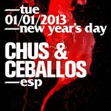 Chus & Ceballos - Live @ Stereo Nightclub, Montreal NYD 1-1-2013