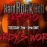 Live Radio show from Wordy on Hard Rock Hell Radio first broadcast on 24 March 2017