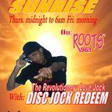 TOWARDS SUNRISE with DISC JOCK REDEEM (Sept 26, 2014) PT.1
