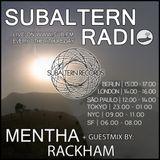 Mentha + Rackham Guestmix - Subaltern Radio 30/03/17
