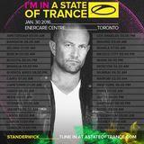 STANDERWICK - A State Of Trance 750,TORONTO,JAN 30 2016