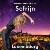 Sefrijn @ Ecstatic Dance Luxembourg (14 dec 2019) - Tribal Beats - World Electronic - Melodic Flow