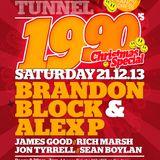 Brandon Block & Alex P at The Time Tunnel, Southampton