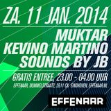 PROMO: 11-01-2014 - VoNK - Sounds By JB Live in Eindhoven