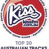 Kiss FM Dance Music Australia Top Twenty Australian Tracks 2016