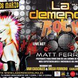 First remix MattFerry - (live in La Demence 08 march 2014)