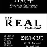 17th party @ Bar REAL   June 6, 2015 at 26:00