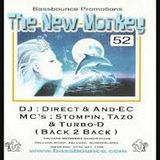 the new monkey 52 dj direct and and'e'c - mc stompin tazo and turbo-d