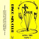"""Disco Mix Club - April 1983. """"Cara A1"""" Michael Jackson Megamix."""