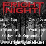 Fright Night Radio 15th September Niche