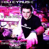 DJ CYRUS in the mix 12/1998 Dance / Trance / Techno