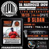D Sloan makes a return to Da Madhouze on KPOO 89.5 FM