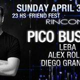 Friend Fest B2B live Alex Rolla Vs Dj LEBA @ Rincon de Pilar