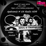 Apéromix #53 Radio HDR by Soul & Tropiques