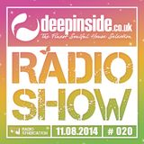DEEPINSIDE RADIO SHOW 020 (Summer Collection 2014)