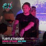 turtletheory @ House of Bass, Public Works SF - January 2019