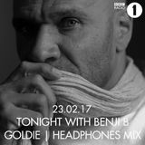 Goldie (Metalheadz, Rhino Records) @ Headphones Mix, BBC Radio 1 (23.02.2017)