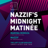Marina Mimoza & Nazzif - Nazzif's Midnight Matinee at The Loft Club Sarajevo - 11/03/2017