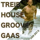 Tech Treib House Groove Gaas Jogging Mix by Kris Broderick on AIDA for Sport and Power Training