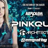 Architect Closing Set @ Absolem pres. Pinkque 17/02/17
