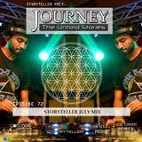 Journey - 72 Storyteller July Mix on Cosmos Radio - Germany [06.07.18]