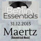 Maertz Special Set For Berlin Essentials (December 2015)