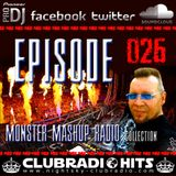MONSTER MASHUP RADIOSHOW - RICHY PEACH / DJ MAGYAR Okt. 2015 VOL. #026