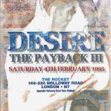 Rap & MC GQ Desire 'The Payback 3' The Rocket 4th Feb 1995