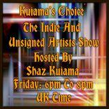 Shaz Kuiama - Kuiama's Choice - 22nd March 2019