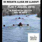 Flix acollirà la 3a regata de la XVII Lliga Catalana de Llagut