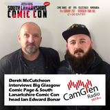 Derek McCutcheon interviews Ian Edward Bonar on South Lanarkshire Comic Con, 31 Jan 2017