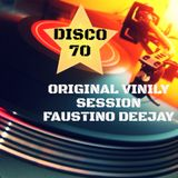 ORIGINAL VINILY SESSION 70 MIXED FAUSTINO DJ ITALY