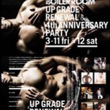 BOILER ROOM TOKYO UPGRADE RENEWAL and 4th ANNIVERSARY PARTY ::YUME