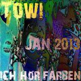 2013-01-13 Towi - ICH HÖR FARBEN Jan 2013 POD